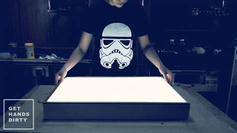 how to make a light box sign make an led light box youtube