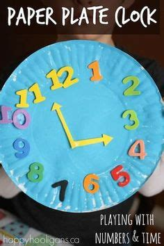 paper plate clock craft 1000 ideas about clock craft on craft