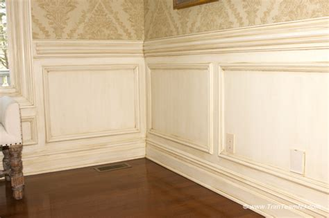 Frame Wainscoting by Wainscot And Picture Frames Traditional By Trim Team Nj