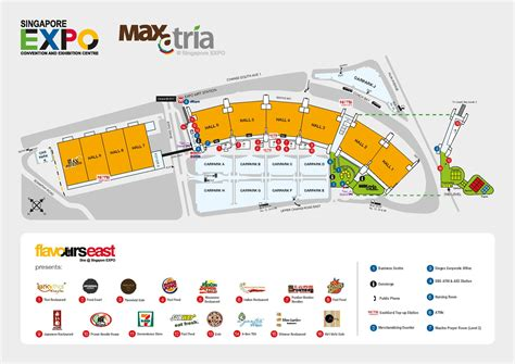 expo floor plan features of singapore expo convention centre mice singapore