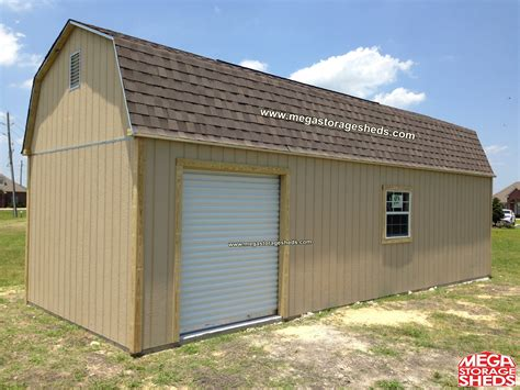 Roll Up Shed Door by Mega Storage Sheds Options Roll Up Doors
