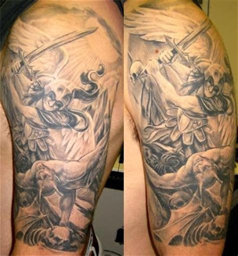 archangel gabriel tattoo designs st michael