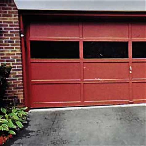 Garage Door Gap Garage How To Exterior This Old House Garage Door Gap Side