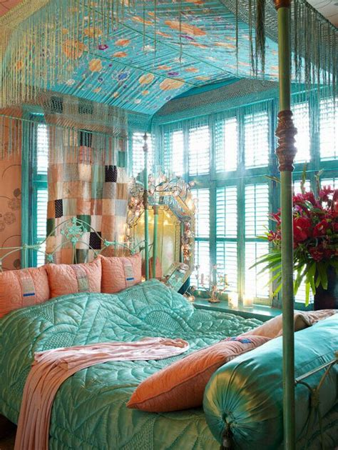 Bedroom Color Ideas Aqua Bohemian Bedroom Things