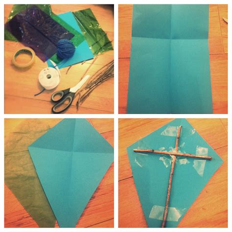 Make A Paper Kite - how to make really kites daisies pie