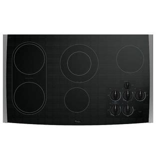 whirlpool gold 36 electric cooktop whirlpool 36 quot electric cooktop with accusimmer 174 elements