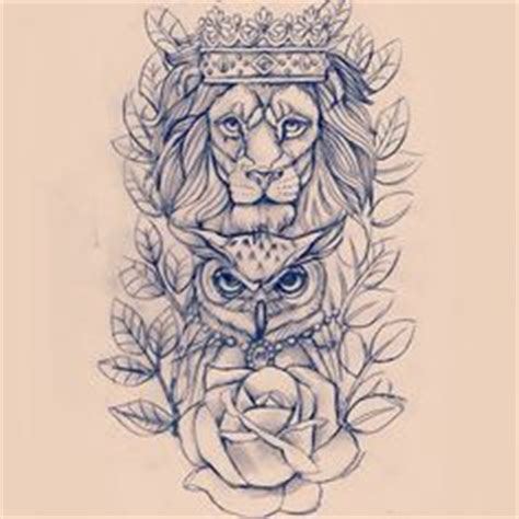 tattoo owl lion lion tattoos for men ideas and image gallery for guys