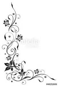 quot ranke flora blume bl 252 te border frame black