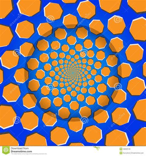 svg pattern rotate rotating heptagon optical illusion vector illustration