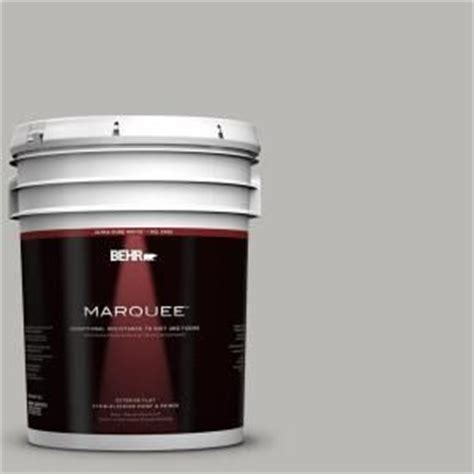 behr marquee paint 5 gal ppu18 11 classic silver flat exterior pai