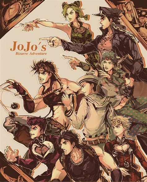 jojo anime art style 256 best jjba images on pinterest jojo bizarre jojo s
