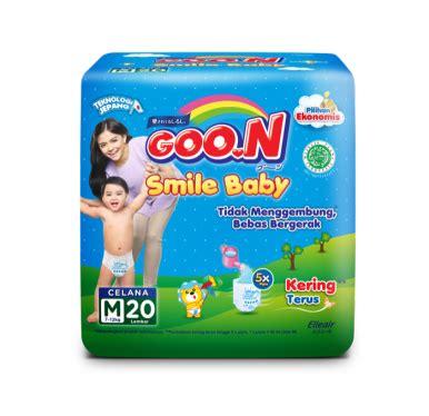 Murah Goon Xl 20 Goo N Smile Baby Xl 20 jual goon smile baby popok m 20 jd id