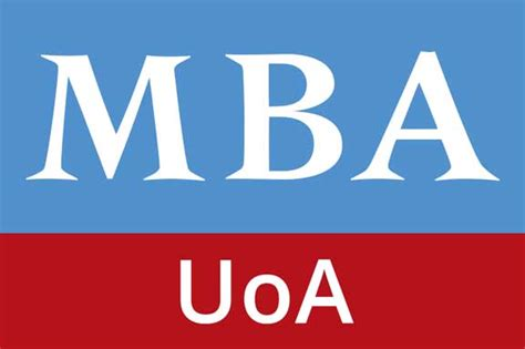 Mba With Ba by Program Outline Uoa Mba
