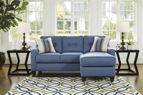 aldie nuvella sofa chaise sleeper aldie nuvella blue sofa chaise 6870318 sofas