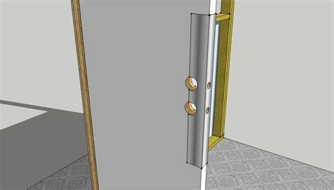 Front Door Reinforcement Stand Out Work Front Door Reinforcement Protection From Burglar Kick Ins