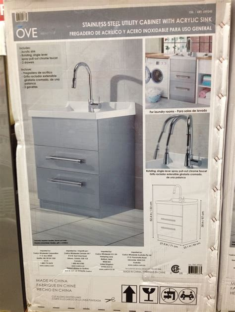 utility laundry sink costco love this utility sink at costco mud room pinterest