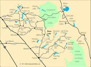bass lake california map map and directions to bass lake ca