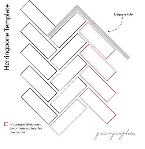 diy herringbone peel n stick tile floor grace gumption