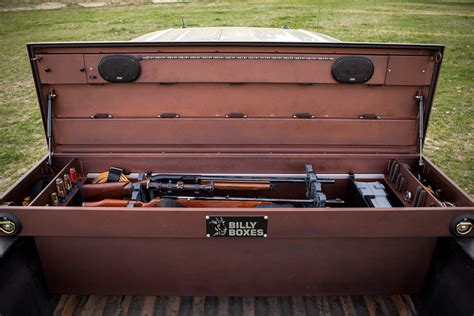 truck bed tool chest billy box truck bed tool box hiconsumption