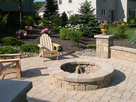 backyard patios with pits put some in your with backyard pits