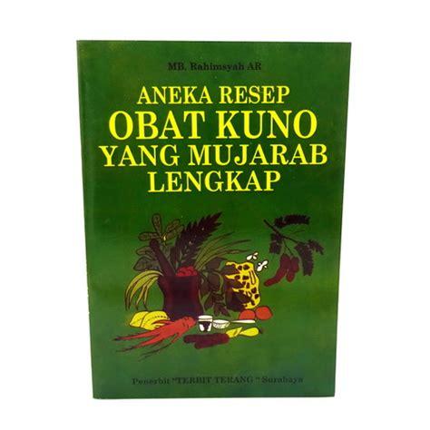 Obat Jerawat Wayang Original Khusus Jerawat Murah buku aneka resep obat kuno yang mujarab lengkap dunia pusaka sakti