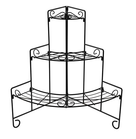 Corner Plant Rack by Plant Stands Corner Plant Stand