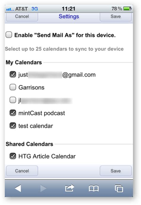Calendar Sync Select How To Sync Your Shared Calendars With Your Iphone