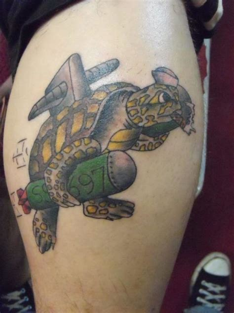 crossing the equator tattoo sailors can wear the shellback turtle when they get
