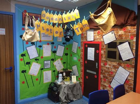 assignment 2 display ideas and layout areas of photo role play area for goodnight mr tom this was for