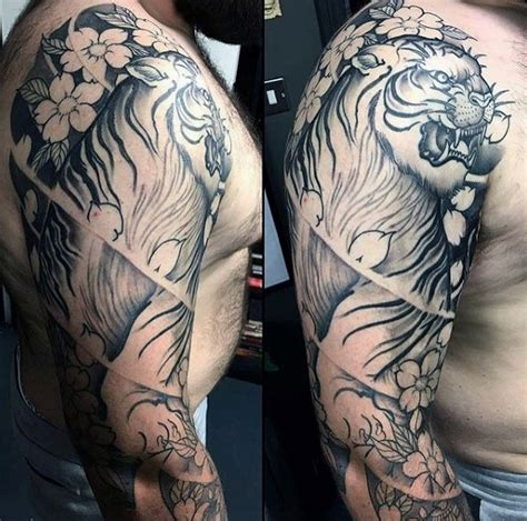 japanese cherry blossom tattoo for men 100 cherry blossom designs for floral ink ideas