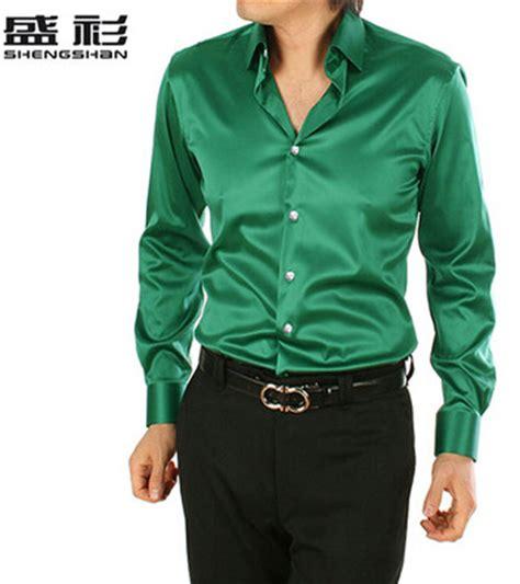 2018 new arrive hot sale men s high quality shiny silk