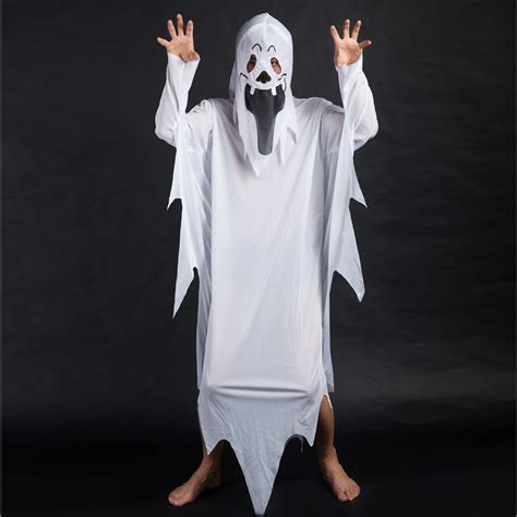 white ghost costumes boys clothes sets fancy dress ghost