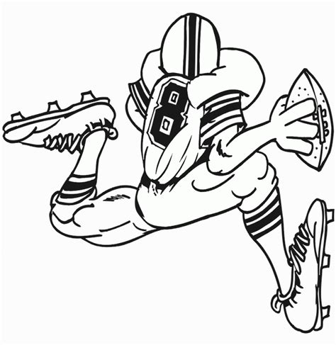 Free Printable Football Coloring Pages For Kids Best Free Football Coloring Pages
