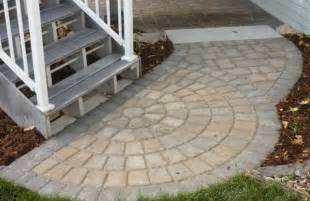 Outside Stairs With Landing by Paved Deck Stair Landing Outdoor Pinterest