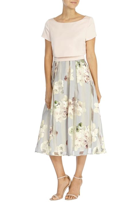 Flowers Stripe Dress coast floral stripe dress lyst