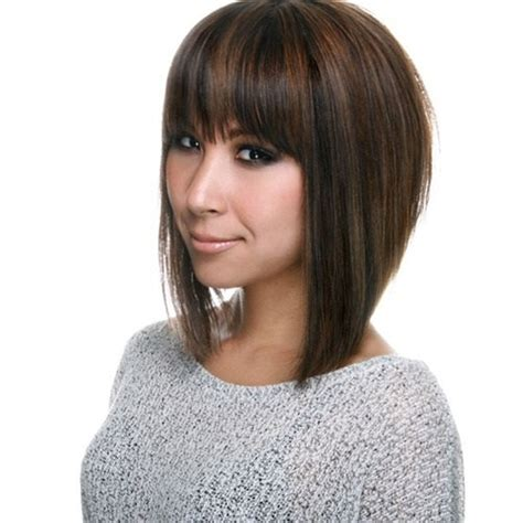stacked bob with bangs 20 short stacked bob hairstyles that look great on everyone