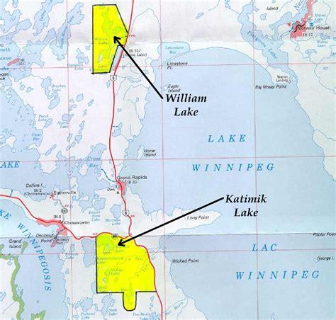 lake winnipeg map lake winnepeg mappery