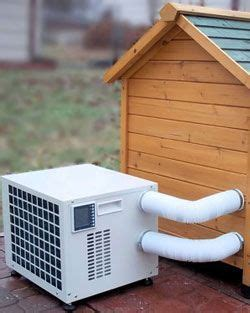 heat l for dog kennel dog house heater air conditioner combo unit dog house