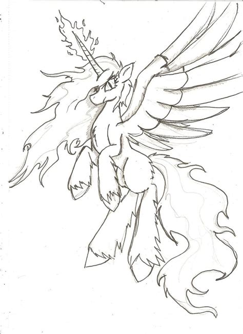 how to draw an alicorn princess from my little pony unity alicorn sketch by zubias on deviantart
