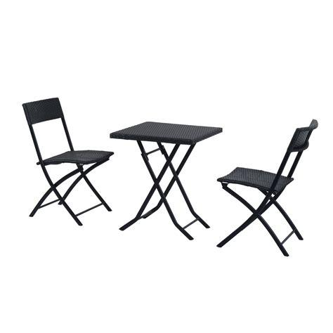 set tavolo e sedie rattan outsunny set mobili da giardino in poly rattan set tavolo