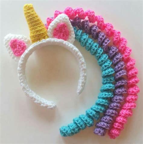 pattern for unicorn headband crochet unicorn headband patterns