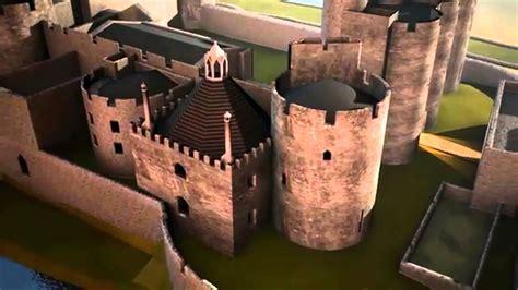 rebuilding   caerphilly castle ailadeiladur