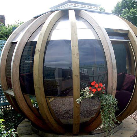 buy a summer house buy farmer s cottage deluxe rotating summer house garden pod john lewis