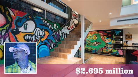 home graffiti chris brown s former home retains its