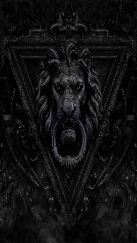 iphone wallpaper hd lion dark lion iphone 5s full hd wallpapers free download