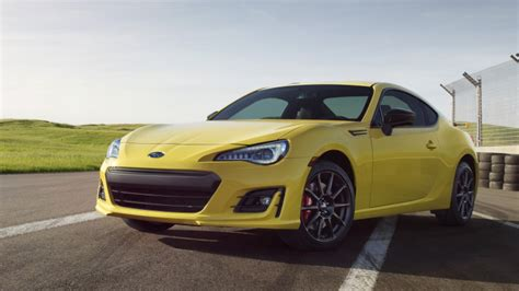 subaru yellow the 2017 subaru brz series yellow is wait for it yellow