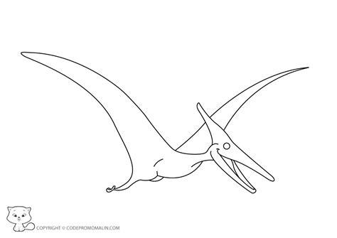 Dessin de coloriage Dinosaure à imprimer   CP09667