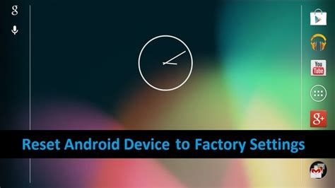 reset android to factory settings step by step guide to factory reset an android device