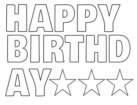 free printable birthday banner lettersnokiaaplicaciones com