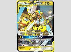 Pikachu & Zeraora GX Tracer Tag Team Custom Overwatch ... Machamp